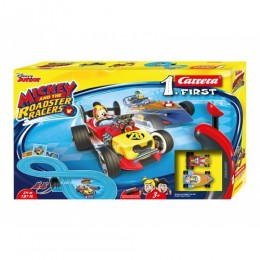 Pista first mickey road 2,4 metri carrera mickey and the roadster