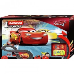 Pista first dinesy cars 3 2,4 metri carrera