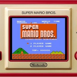 Hxa game watch sm bros system console retro mario
