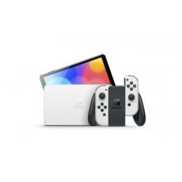 Nintendo switch + (oled model) whit e bianca oled