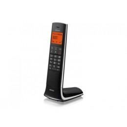 Telefono cordless brondi lemure sveglia/rubrica/id chiamante