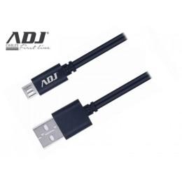 Cavo usb 2.0 a-micro a 1,5mt bk speedy Cavo fast charge 3a adj