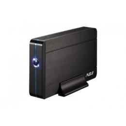 Box 3.5 sata to usb 3.0 max 8tb bk ah640 box alluminio/plastica adj