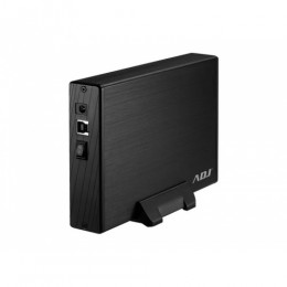 Box 3.5 sata to usb 3.0 max 8tb bk ah612 box slim case alluminio adj