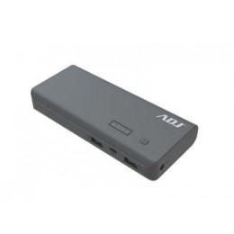 Power bank 10000mah p/usb*2 thor gy c/cavo Micro USB 5v/2/torcia/indi adj