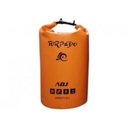 Borsa waterproof torpedo 25lt og impermeabile con tracolla adj