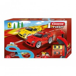 Pista first ferrari 2,4metri carrera