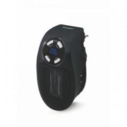 Stufa pluggy mini t/ventilatore nero c/display led