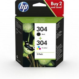 Hp 304 ink car compo 2pack