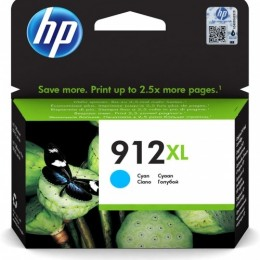 Hp 912xl hy cyan original ink