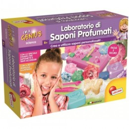 Lisciani i`m a genius science - laboratorio di saponi profumati