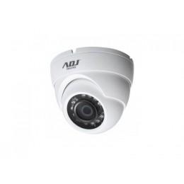 Camera dome 720p 3,6mm wh ip67 ir25m dc12v 4in1 adj
