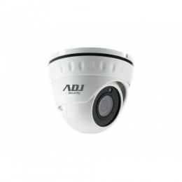 Camera dome 1080p 2,8mm wh ip66 ir20m wdr dc12v 4in1 adj