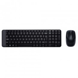 Tastiera mk220 log wireless+mouse nera usb retail