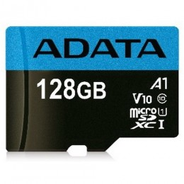 Sdxc adata micro premier 128gb (2in1) uhs-i cl10 a1 v10 ausdx128guicl10a1-r