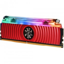 Ddr4 8gb 3600 mhz xpg spectrix d80 cl16 rgb liquid cooled red