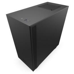 Nzxt gaming case h510 compatto mid t.nero/nero v.temperato 2*120 aer f