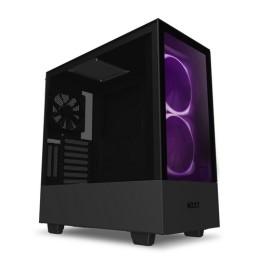 Nzxt gaming case h510 elite comp.mid t.nero/nero -2*140 aer rgb f-1*led s.