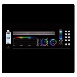 Thermaltake raff.liquidio pacific m240 d5 kit hard tube water cooling