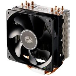 Ventola hyper 212x, tower, 120mm 600-1700rpm pwm fan, 4 x 6mm cdc heatpipes, full socket support