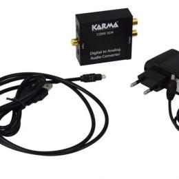 Convertitore da audio digitale a audio analogico per cuffie a tv
