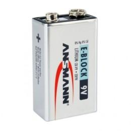 Ansmann extreme lithium batteria al litio formato 9v block e, supporta temperature tra -40 e +60 gradi. 1 pezzo