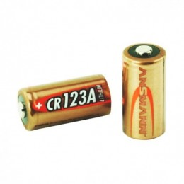 Ansmann batteria al litio cr123a da 3v per macchine fotografiche supporta temperature tra -40 e +60 gradi. 1 pezzo (bulk)