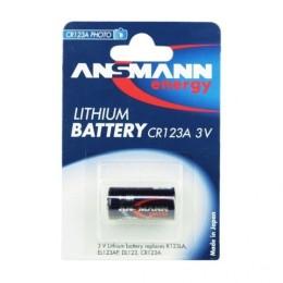 Ansmann batteria al litio formato cr123a da 3v. 1 pezzo . specifica per macchine fotografiche