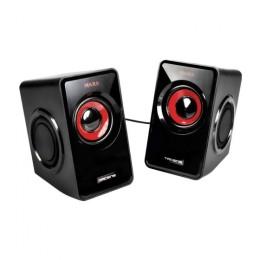 Mars gaming speakers ms1 black red