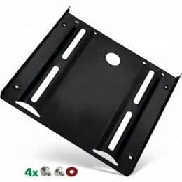 Inline telaio montaggio hdd-/ssd da 2,5 a slot 3,5, viti di fissaggio, nero