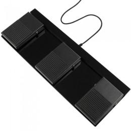 Scythe usb foot switch ii pedaliera per pc a 3 pedali