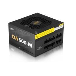 Deepcool alimentatori da600-m 600w 80plus modulare jap.cap.dp-bz-da600-mfm