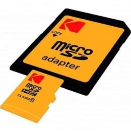 Sd micro 256gb cl10 uhs-i u3 v30 a1 ultra con adattatore kodak