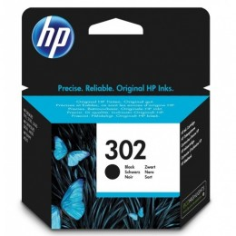 Hp 302 black ink cart