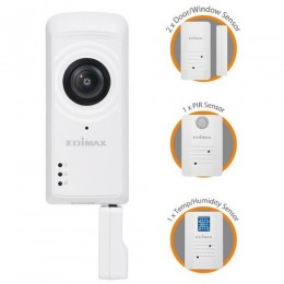 Edimax kit smart home connect per una casa smart protetta