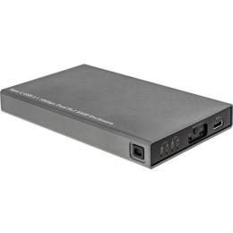 Inline hdd box esterno usb 3.1 per dischi dual m.2 6g ssd con raid porta usb type c
