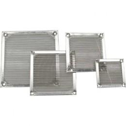 Inline griglia ventola con filtro in alluminio, 92x92mm