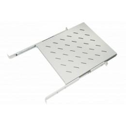 Armadio rack ripiano 1 unit&192, 1 prof.550 mm univ. grigio estraibile