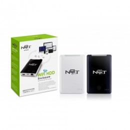 Not only pc wifi hdd-enclosure (white)