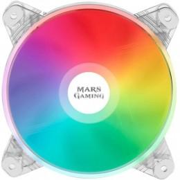 Mars gaming mfd ventola dual chroma rgb transparent ultra silent da 120mm