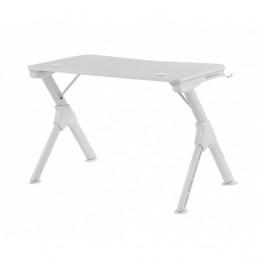 Mars gaming - gaming desk  ergonomica mgdw, white