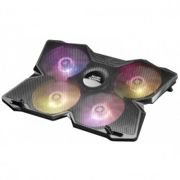 Mars gaming mnbc3 notebook cooler con 4 ventole rgb