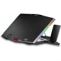 Mars gaming mnbc5 dissipatore per notebook da 17.3, black