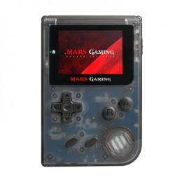 Mars gaming mrbb console con 151 giochi, slot microsd, emulatore gba, sega, nes, fc/sfc black