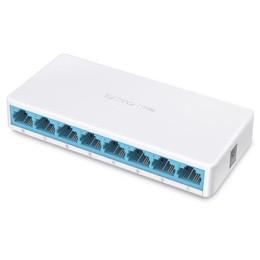 Switch desktop 8p 10/100 rj45 auto mdi/mdix