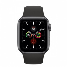 Watch 5 40mm gps spacegrey allum. black sport band