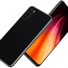 Sm xiaomi redmi note 8 black 6,3 4+64gb ds ita
