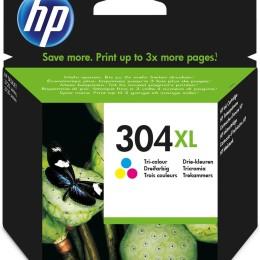 Hp 304xl tricolor original ink