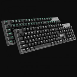 Genesis  tastiera gaming multim meccanica thor-300 alluminio 104tasti verde