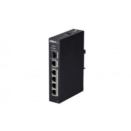 Switch 4p poe 1p gb long range 4p 10/100 dahua